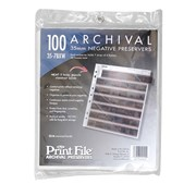 Print File Archival 35mm: 7 Strips of 6 Frames (100 pack)