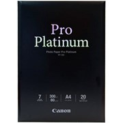 Canon A4 Photo Paper Pro Platinum 20s