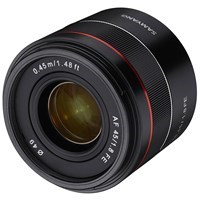 Product: Samyang AF 45mm f/1.8: Sony FE (ETA early June 2019)
