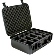 SeaHorse SE720 Case Black w/ Adjustable Dividers