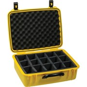 SeaHorse SE720 Case Yellow w/ Adjustable Dividers