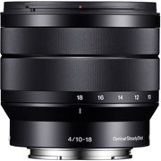 Sony 10-18mm f/4 OSS Lens