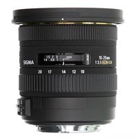 Product: Sigma 10-20mm f/3.5 EX DC HSM Lens: Canon EF