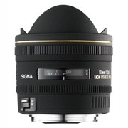 Sigma 10mm f/2.8 EX DC Fisheye HSM lens for Nikon
