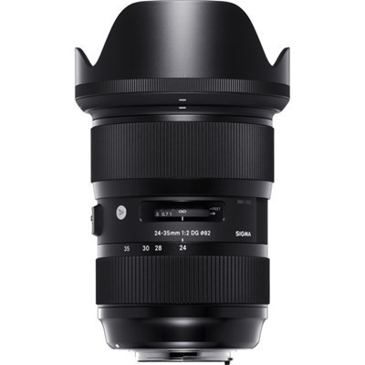 Product: Sigma 24-35mm f/2 DG HSM Art Lens: Canon EF (1 only)
