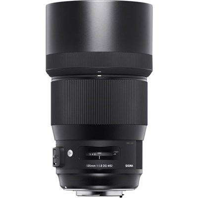 "Product: Sigma 135mm f/1.8 DG HSM ""A"" for EOS"