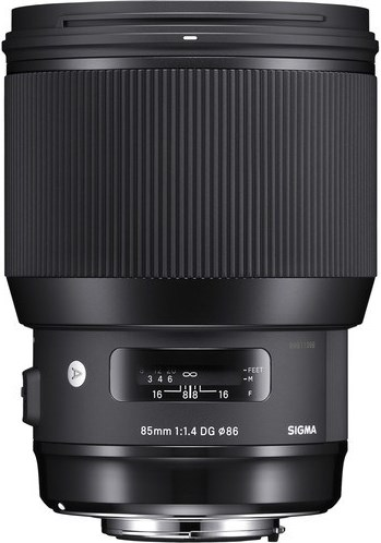 "Product: Sigma 85mm f/1.4 DG HSM ""A"" for EOS"