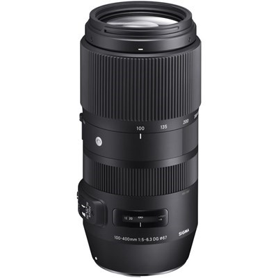 Product: Sigma 100-400mm f5-6.3 DG OS HSM Contemporary Lens: Nikon F