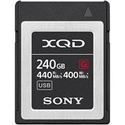 Sony SH 240GB QD-G240F G Series XQD Memory Card grade 10 (never used)