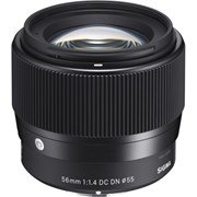 Sigma 56mm f/1.4 DN Lens Black: Sony E