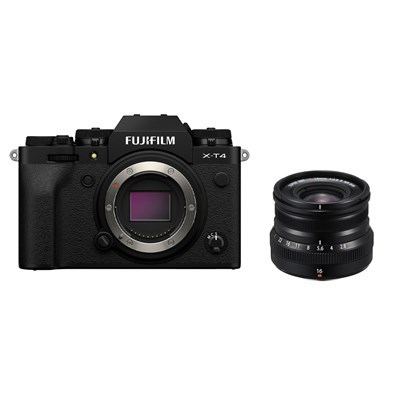 Product: Fujifilm X-T4 Black + 16mm f/2.8 WR Silver kit