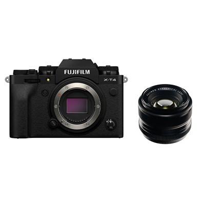 Product: Fujifilm X-T4 Black + 35mm f/1.4 Kit