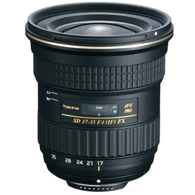 Product: Tokina 17-35mm f/4 PRO FX Lens: Canon EF (1 only)