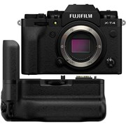 Fujifilm X-T4 Black + VG-XT4 Vertical Battery Grip Kit