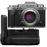 Fujifilm X-T4 Silver + VG-XT4 Vertical Battery Grip Kit