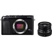 Fujifilm X-E3 black + 16mm f/2.8 WR black kit