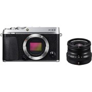 Fujifilm X-E3 silver + 16mm f/2.8 WR black kit