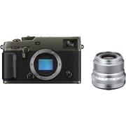 Fujifilm X-Pro3 Duratect Black + 23mm f/2 Silver Kit