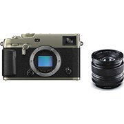 Fujifilm X-Pro3 Duratect Silver + 14mm f/2.8 Kit