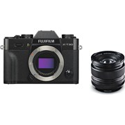 Fujifilm X-T30 black + 14mm f/2.8 kit