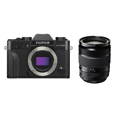 Product: Fujifilm X-T30 black + 18-135mm f/3.5-5.6 kit