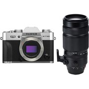 Fujifilm X-T30 silver + 100-400mm f/4.5-5.6 kit