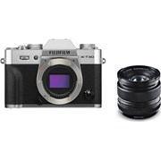Fujifilm X-T30 silver + 14mm f/2.8 kit