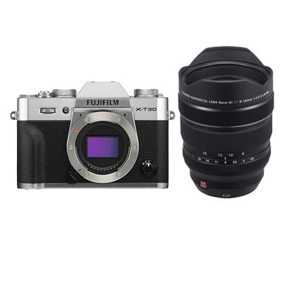 Product: Fujifilm X-T30 silver + 8-16mm f/2.8 WR kit