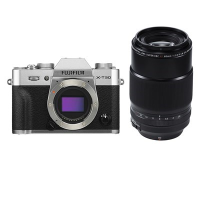 Product: Fujifilm X-T30 silver + 80mm f/2.8 Macro kit