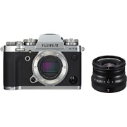 Fujifilm X-T3 Silver + 16mm f/2.8 WR Black kit