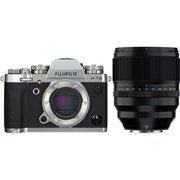 Fujifilm X-T3 Silver + 50mm f/1.0 WR Kit
