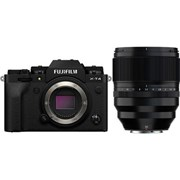 Fujifilm X-T4 Black + 50mm f/1.0 WR Kit