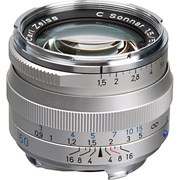 Zeiss 50mm f/1.5 C Sonnar T* ZM Lens Silver: Leica M