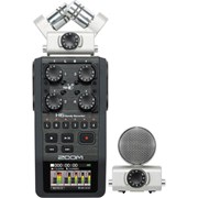 Zoom Audio H6 Handy - Handheld Recorder w/- Interchangable microphone system
